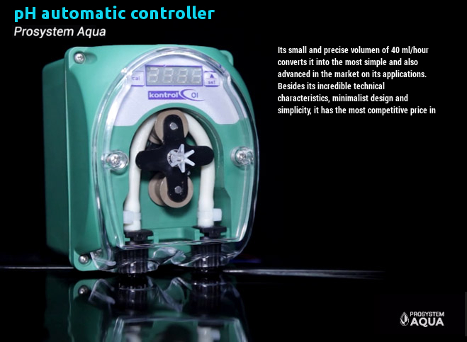 pH - Ec automatic controllers and Hidroponic Systems